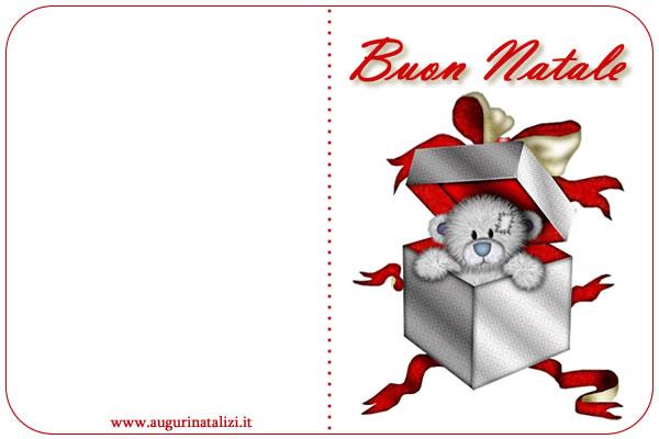 Ben noto Biglietto Auguri Buon Natale - Biglietto di Natale AV18